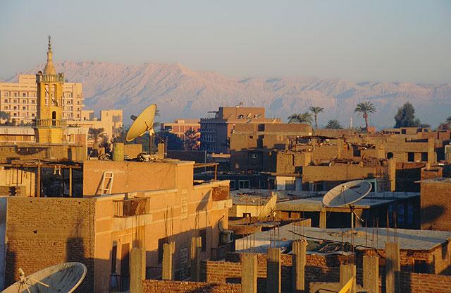 miasto egipt luksor